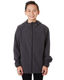 BLACK KIDS BOYS RIP CURL JUMPERS + JACKETS - KJKCF70090