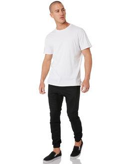 BLACK MENS CLOTHING ZANEROBE PANTS - 700-VERIBLK