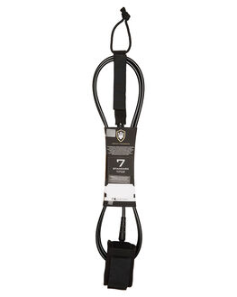 BLACK WHITE BOARDSPORTS SURF FK SURF LEASHES - 1287BLKWH