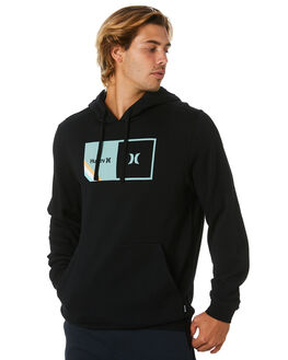 BLACK MENS CLOTHING HURLEY JUMPERS - CT0705010