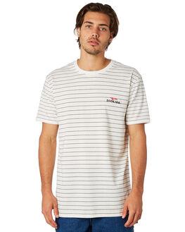 WHITE BLACK MENS CLOTHING DICKIES TEES - KU4180129WHBLK