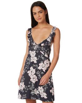 DARK GREY WOMENS CLOTHING RIP CURL DRESSES - GOVBP11221