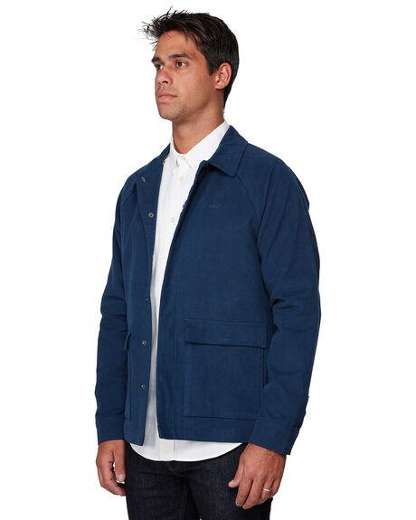 NAVY MENS CLOTHING RVCA JACKETS - RV-R107437-N10