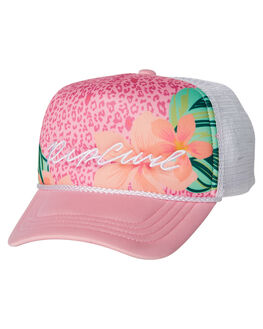 PINK KIDS TODDLER GIRLS RIP CURL HEADWEAR - FCABA10020