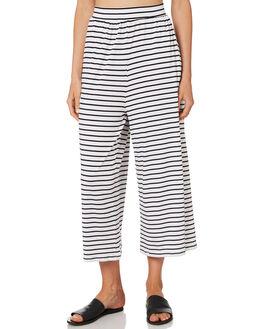 BLACK WHITE STRIPE WOMENS CLOTHING BETTY BASICS PANTS - BB517HS18BWSTP