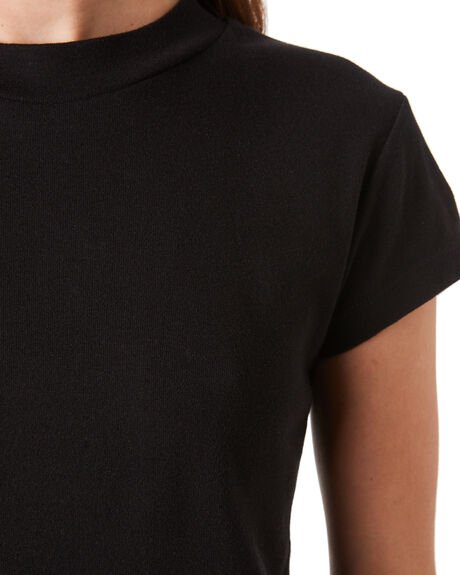 BLACK WOMENS CLOTHING ZULU AND ZEPHYR TEES - ZZ2889BBLK