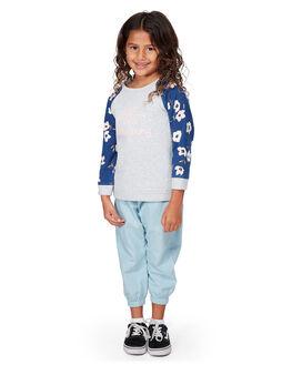 GREY MARLE KIDS GIRLS BILLABONG JUMPERS + JACKETS - BB-5507738-GYM