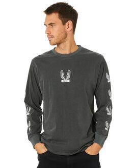 MERCH BLACK MENS CLOTHING THRILLS TEES - TW20-106BMMCBLK