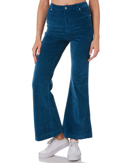BLUE TOPAZZ CORD WOMENS CLOTHING WRANGLER JEANS - W-951436-LT8