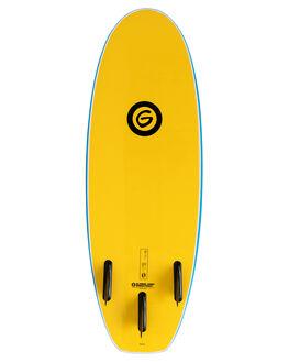 BLUE YELLOW BOARDSPORTS SURF GNARALOO GSI SOFTBOARDS - GN-DUNE-0410-BLYL