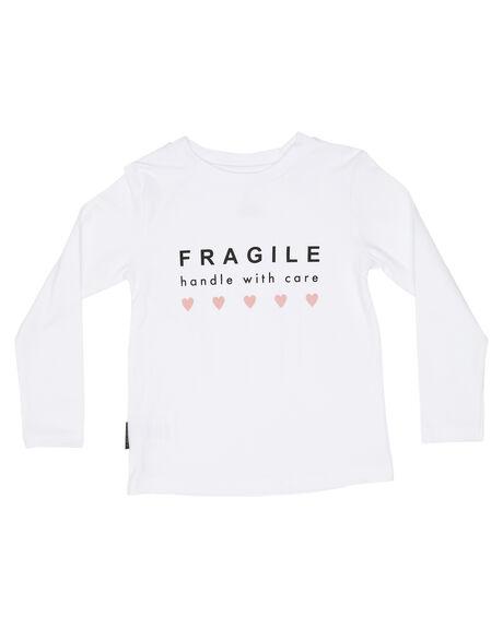 WHITE OUTLET KIDS TINY TRIBE CLOTHING - TTF19-11097AWHT