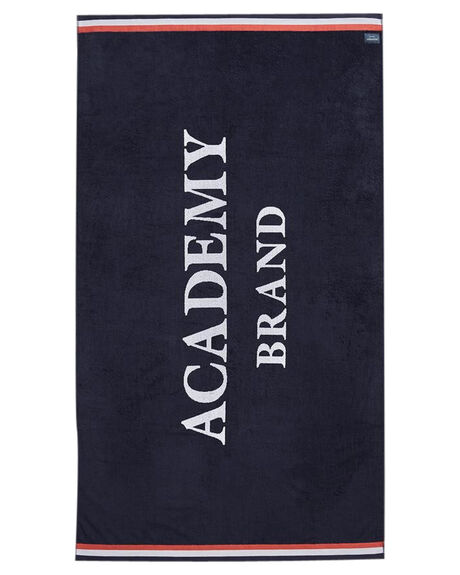 NAVY MENS ACCESSORIES ACADEMY BRAND TOWELS - 19S011NVY