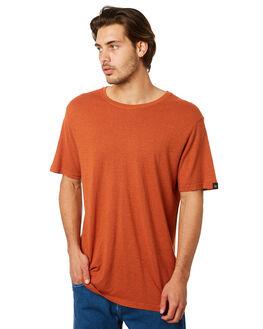 RUST MENS CLOTHING AFENDS TEES - M183027RUST