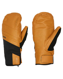 BUCKHORN BROWN BOARDSPORTS SNOW POW GLOVES - RYM-B-L-GTX-BBBBR