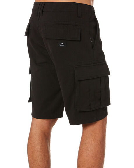 BLACK OUTLET MENS RUSTY SHORTS - WKM0988BLK