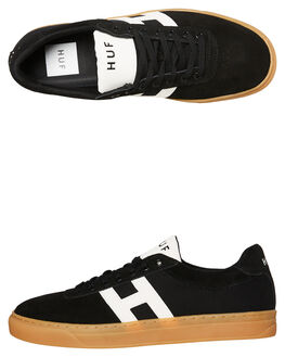 BLACK MENS FOOTWEAR HUF SNEAKERS - CP00031-BLK