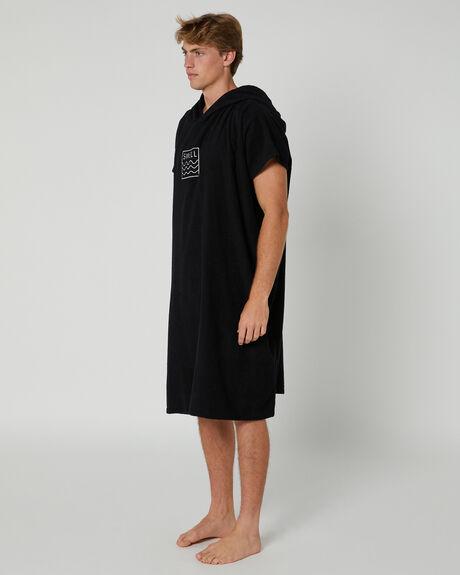 BLACK MENS ACCESSORIES SWELL TOWELS - S52041801BLACK