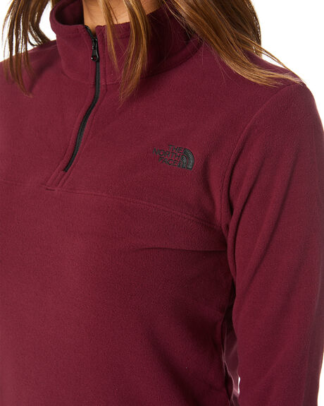 DEEP GARNET RED WOMENS CLOTHING THE NORTH FACE JUMPERS - NF0A48KKSSJ