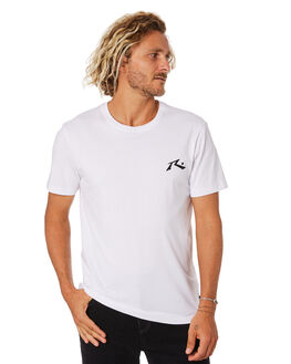 WHITE MENS CLOTHING RUSTY TEES - TTM2314WHT