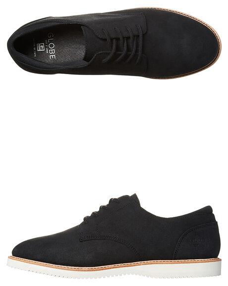BLACK MENS FOOTWEAR GLOBE SNEAKERS - GBWOLF-10001