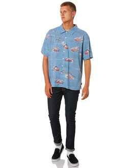 BLUE DREAM MENS CLOTHING BRIXTON SHIRTS - 01091BLDRM