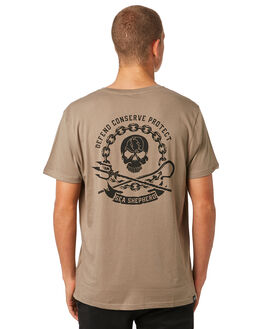 STONE MENS CLOTHING SEA SHEPHERD TEES - SSA859SSTONE