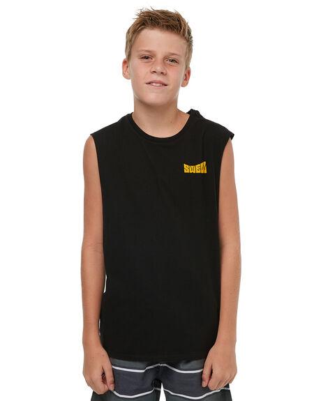 BLACK KIDS BOYS SWELL CLOTHING - S3183273BLACK
