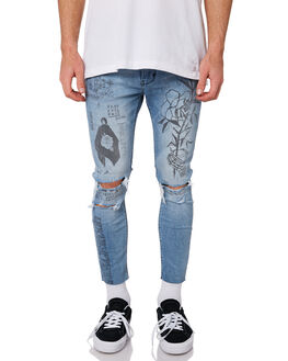 SCRAWL MENS CLOTHING A.BRAND JEANS - 812334157