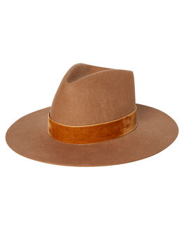 TEAK WOMENS ACCESSORIES LACK OF COLOR HEADWEAR - BRNTRI1TEAK