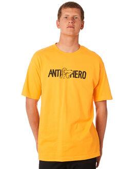 GOLD MENS CLOTHING ANTI HERO TEES - FPNCHGOLD