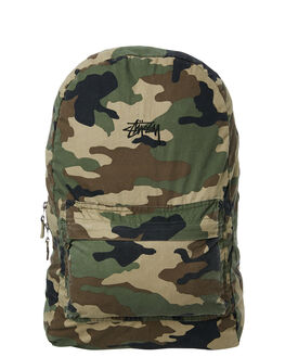 CAMO MENS ACCESSORIES STUSSY BAGS + BACKPACKS - ST783012CAMO