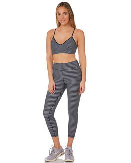 NAVY WHITE WOMENS CLOTHING THE UPSIDE ACTIVEWEAR - USW419021NAVWH
