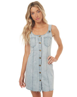 BLUE WOMENS CLOTHING INSIGHT DRESSES - 5000000219BLUE