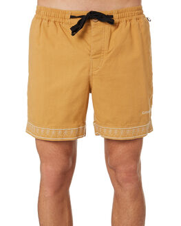 MOCHA MENS CLOTHING THE CRITICAL SLIDE SOCIETY SHORTS - WT1823MOC