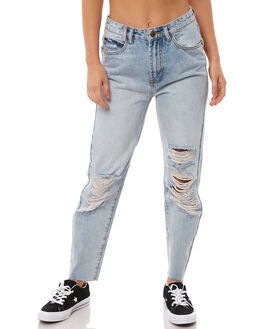 VACAY BLUE WOMENS CLOTHING INSIGHT JEANS - 1000067735VACBL