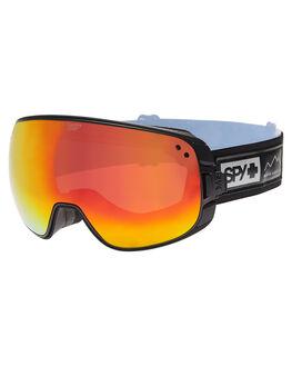 WAXED BLACK BOARDSPORTS SNOW SPY GOGGLES - 313222139621WBLK
