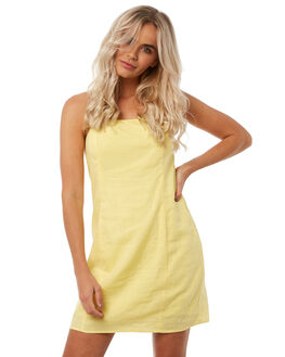 YELLOW WOMENS CLOTHING INSIGHT DRESSES - 5000002448YEL