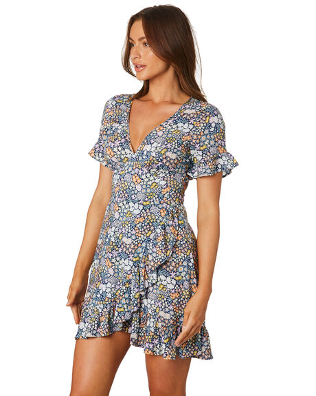 MULTI WOMENS CLOTHING TIGERLILY DRESSES - T305460MLT