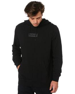BLACK MENS CLOTHING HURLEY JUMPERS - BV1669010