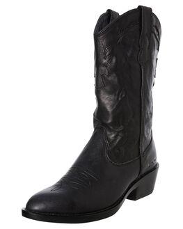 BLACK VINTAGE WOMENS FOOTWEAR ROC BOOTS AUSTRALIA BOOTS - INDIOBLK