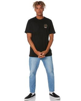 BLACK MENS CLOTHING SWELL TEES - S5211002BLACK