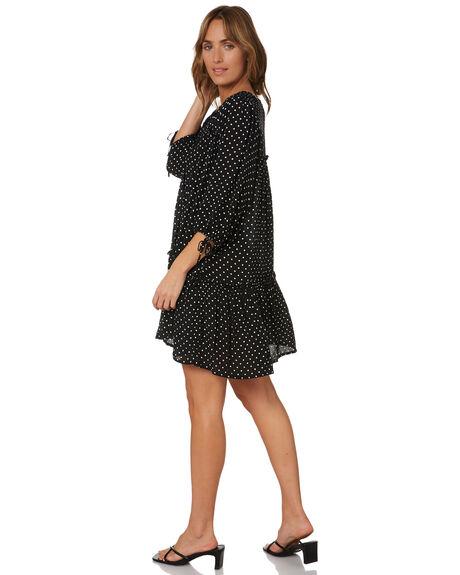 MINIMAL DOT WOMENS CLOTHING RUE STIIC DRESSES - SA-21-03-1-MD-FFMNDT