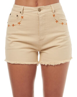 NATURAL OUTLET WOMENS SWELL SHORTS - S8171234NAT