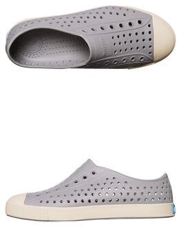 PIGEON GREY WHITE KIDS BOYS NATIVE FOOTWEAR - 12100100-1500