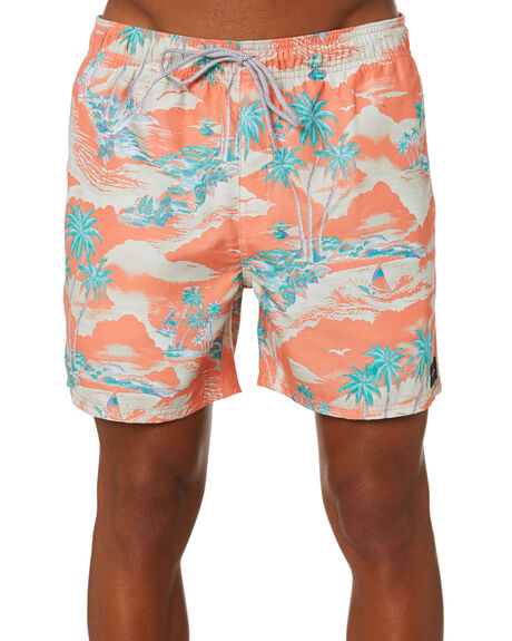 RED MENS CLOTHING RIP CURL BOARDSHORTS - CBORR90040