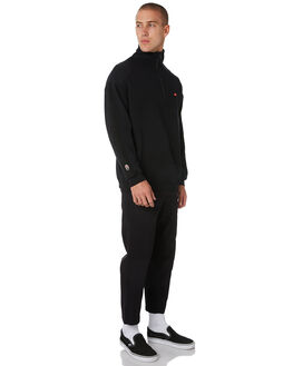 BLACK MENS CLOTHING GLOBE JUMPERS - GB01933004BLK