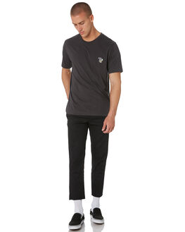 WASHED BLACK MENS CLOTHING BARNEY COOLS TEES - 150-CC1IWSBLK