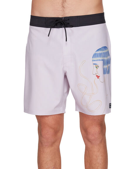 PALE LILAC MENS CLOTHING RVCA BOARDSHORTS - RV-R308400-LLC
