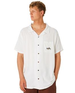 WASHED WHITE MENS CLOTHING MISFIT SHIRTS - MT092407WASHW