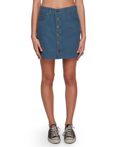 ORION BLUE WOMENS CLOTHING BILLABONG SKIRTS - BB-6507527-ION